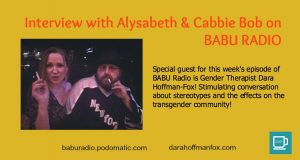 Discussing Transgender Rights, Stereotypes & More on BABU RADIO