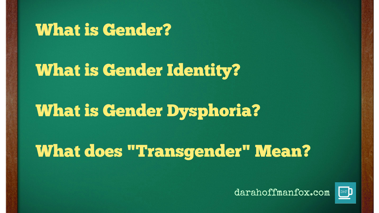 transgender is what